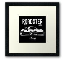 Roadster gang. Mazda MX5 Miata (ND) Framed Print