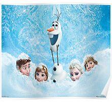 Disneys Frozen Poster