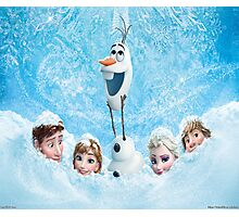 Disneys Frozen Photographic Print