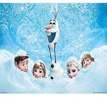 Disneys Frozen Photographic Print