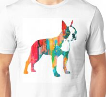 Boston Terrier 2 Unisex T-Shirt