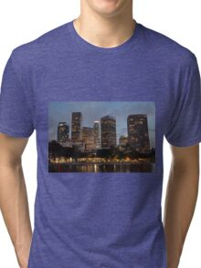 Downtown Los Angeles Skyscrapers Tri-blend T-Shirt