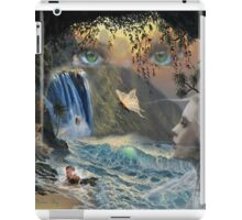 Lady in the water iPad Case/Skin