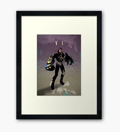 Legends of Gaming - VI Framed Print