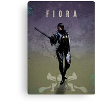 Legends of Gaming - Fiora Canvas Print