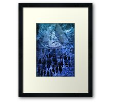 Sailing Without Destination in a Parallel World Framed Print