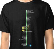 Line 2 Parody Map Classic T-Shirt