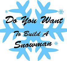 do you want to build a snowman, Frozen, Snowman by Nicnak85