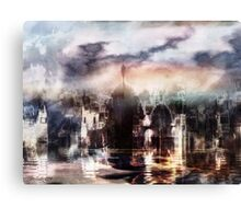 Somnolent City V Canvas Print