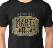 Marte Par-tay (on dark) Unisex T-Shirt