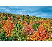 Cut River Autumn Color Photographic Print