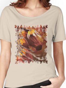 Autumn Horse Women's Relaxed Fit T-Shirt