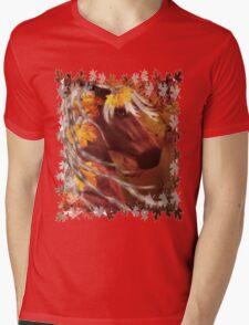 Autumn Horse Mens V-Neck T-Shirt