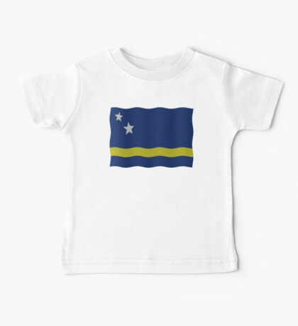 Curacao flag Baby Tee