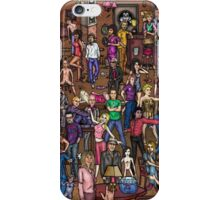 Music stars iPhone Case/Skin