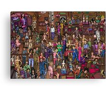 Music stars Canvas Print