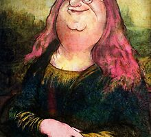 peter griffin as mona lisa by matan kohn