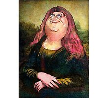 peter griffin as mona lisa Photographic Print
