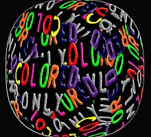 Colored Only in a Fisheye by Laural Retz Studio