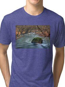 Vouraikos river - Achaia Tri-blend T-Shirt