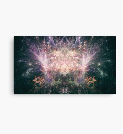 Abstract Psychedelic Art Canvas Print
