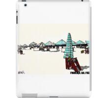 Figueira da Foz - Beach Umbrellas  iPad Case/Skin