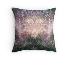 Abstract Psychedelic Art Throw Pillow