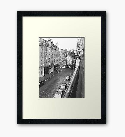 West Bow, Edinburgh Framed Print