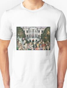 Us presidents at the white house Unisex T-Shirt