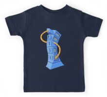 the blue tower 2 Kids Tee