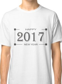 Happy New Year 2017 Classic T-Shirt