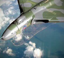 Vulcan Over Wittering ! by Colin  Williams Photography