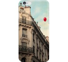 Balloon Rouge iPhone Case/Skin