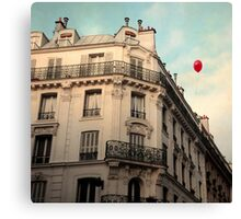 Balloon Rouge Canvas Print