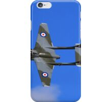 Vampire taken @ classic air force museum Cornwall iPhone Case/Skin