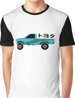 Toyota Pickup (blue) Graphic T-Shirt