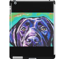 Labrador Retriever Dog Bright colorful pop dog art iPad Case/Skin