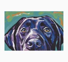 Labrador Retriever Dog Bright colorful pop dog art T-Shirt