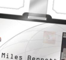 Terminator 2 - Miles Dyson ID Sticker