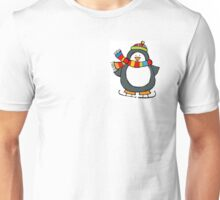 Christmas Winter Holiday Cute Penguin Unisex T-Shirt