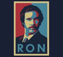 Ron Burgundy (Obama Style) by Cinerama