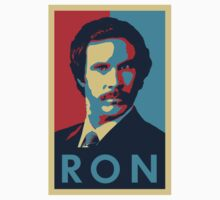 Ron Burgundy (Obama Style) Kids Clothes