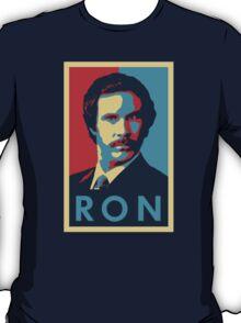 Ron Burgundy (Obama Style) T-Shirt