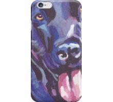 Labrador Retriever Dog Bright colorful pop dog art iPhone Case/Skin