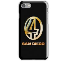 Channel 4 San Diego (Gold) iPhone Case/Skin