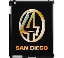 Channel 4 San Diego (Gold) iPad Case/Skin