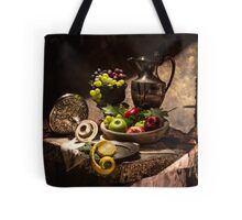 Fruits by Window Light Tote Bag