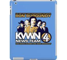 News Team 4 iPad Case/Skin