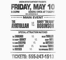 """The Wrestler - Randy """"The Ram"""" Flyer (Black) Unisex T-Shirt"""