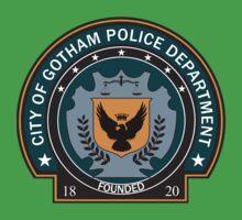 Gotham Police Deparment Badge Kids Clothes